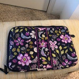 Vera Bradley Floral Nightingale Laptop Case